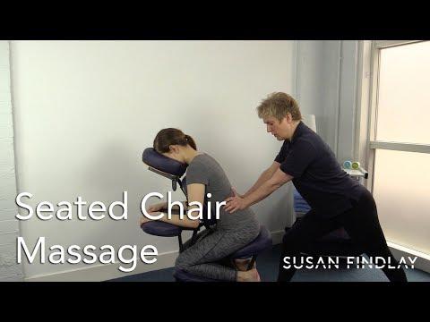 Massage Mondays - Seated Chair Massage - Sports Massage Therapy