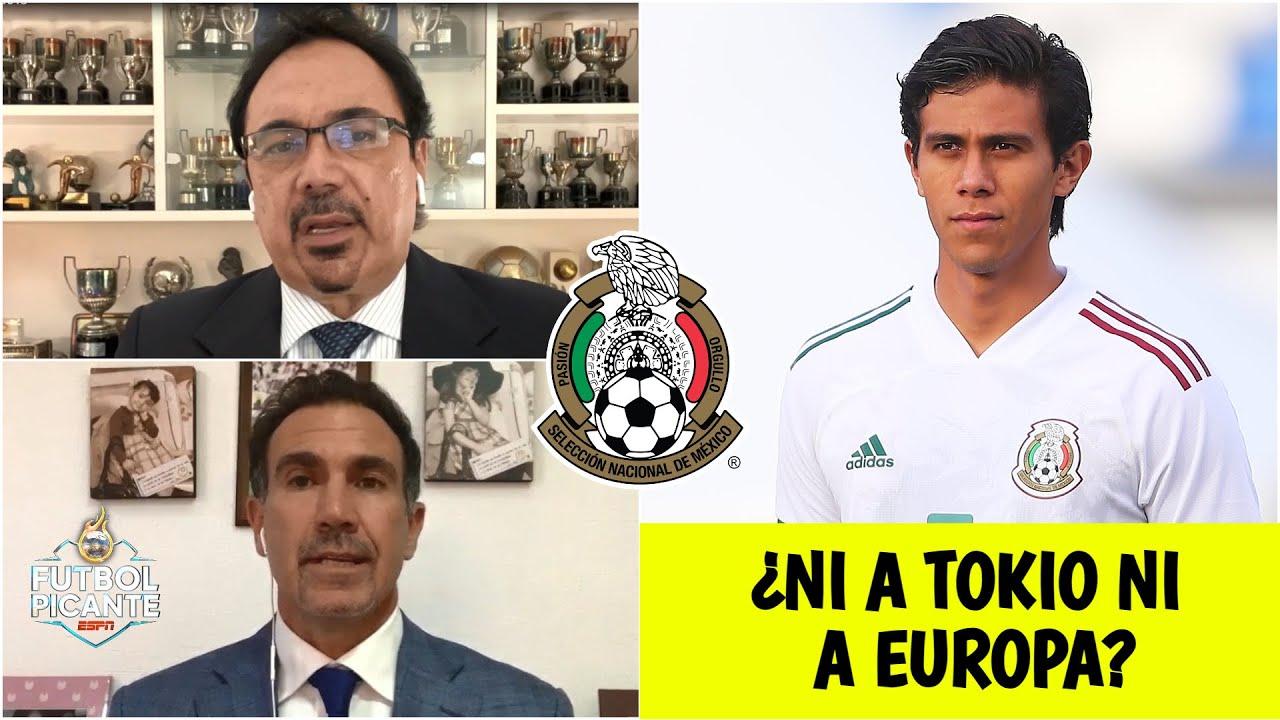 SELECCIÓN MEXICANA JJ Macías QUEDARÍA FUERA de los Juegos Olímpicos de Tokio 2021 | Futbol Picante