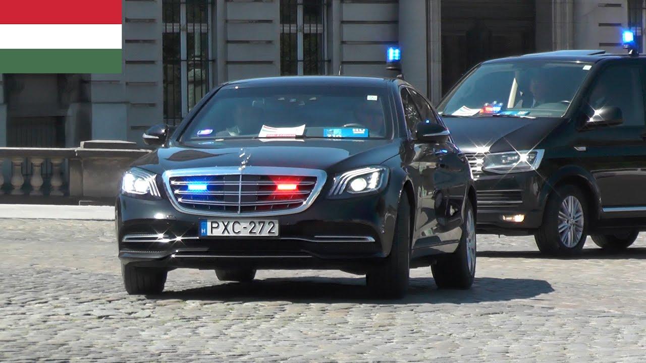 Belgische politie begeleidt Hongaarse Minister President Viktor Orbán in Brussel! #1319