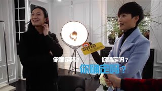 "[HD]Li Yuchun x Alexander Wang-Date in Paris Fashion Week-李宇春巴黎""约会""王大仁"