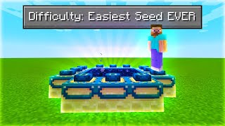 I Found The Easiest Seed In Minecraft...