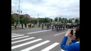 Парад 9 мая 2012. Ивацевичи