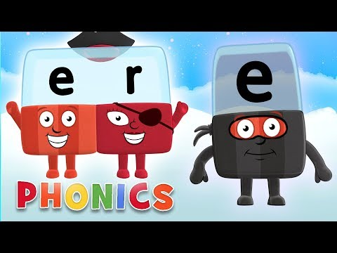 Phonics - Learn to Read | Changing Sounds with Magical E! | Alphablocks