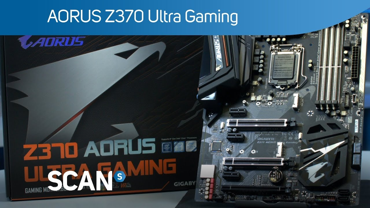 Gigabyte AORUS Z370 ultra Gaming Motherboard - Overview