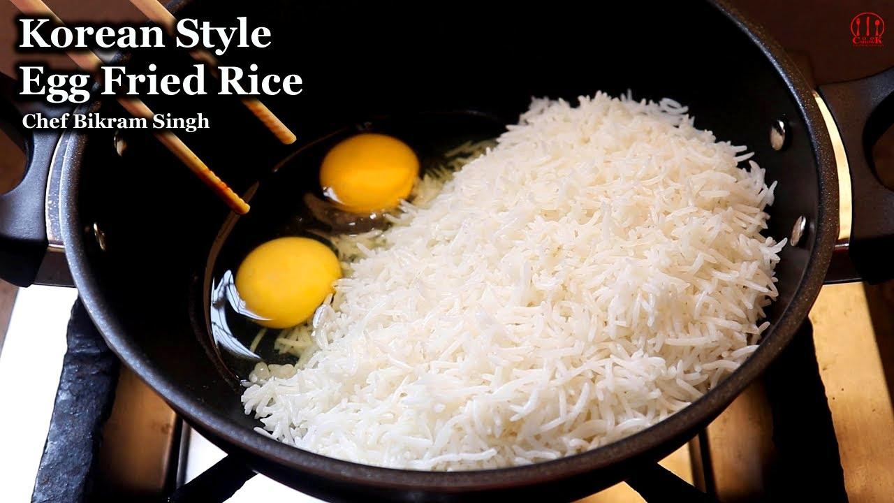 Korean Style Egg Fried Rice | Egg Fried Rice | Egg Fried Rice Indian Style | a fantastic taste