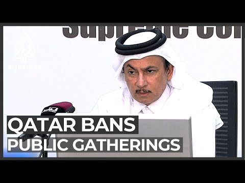 Qatar bans public gatherings to contain COVID-19