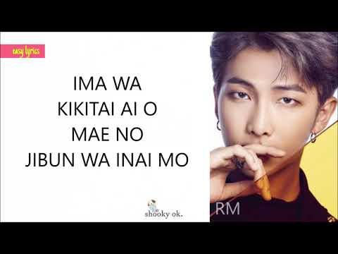 BTS (防弾少年団) - 'FAKE LOVE' (Japanese Ver.) (EASY LYRICS/PRONUNCIACIÓN)