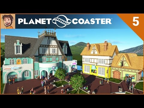 Let's Play - Planet Coaster - Part 5