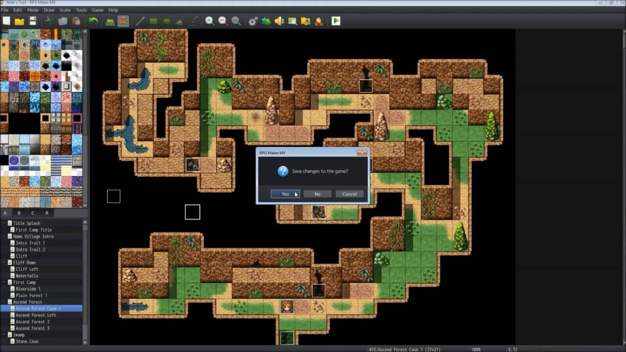 RPG Maker MV Tutorial - Mobile GamePad using Yanfly Picture Common Events  Plugin