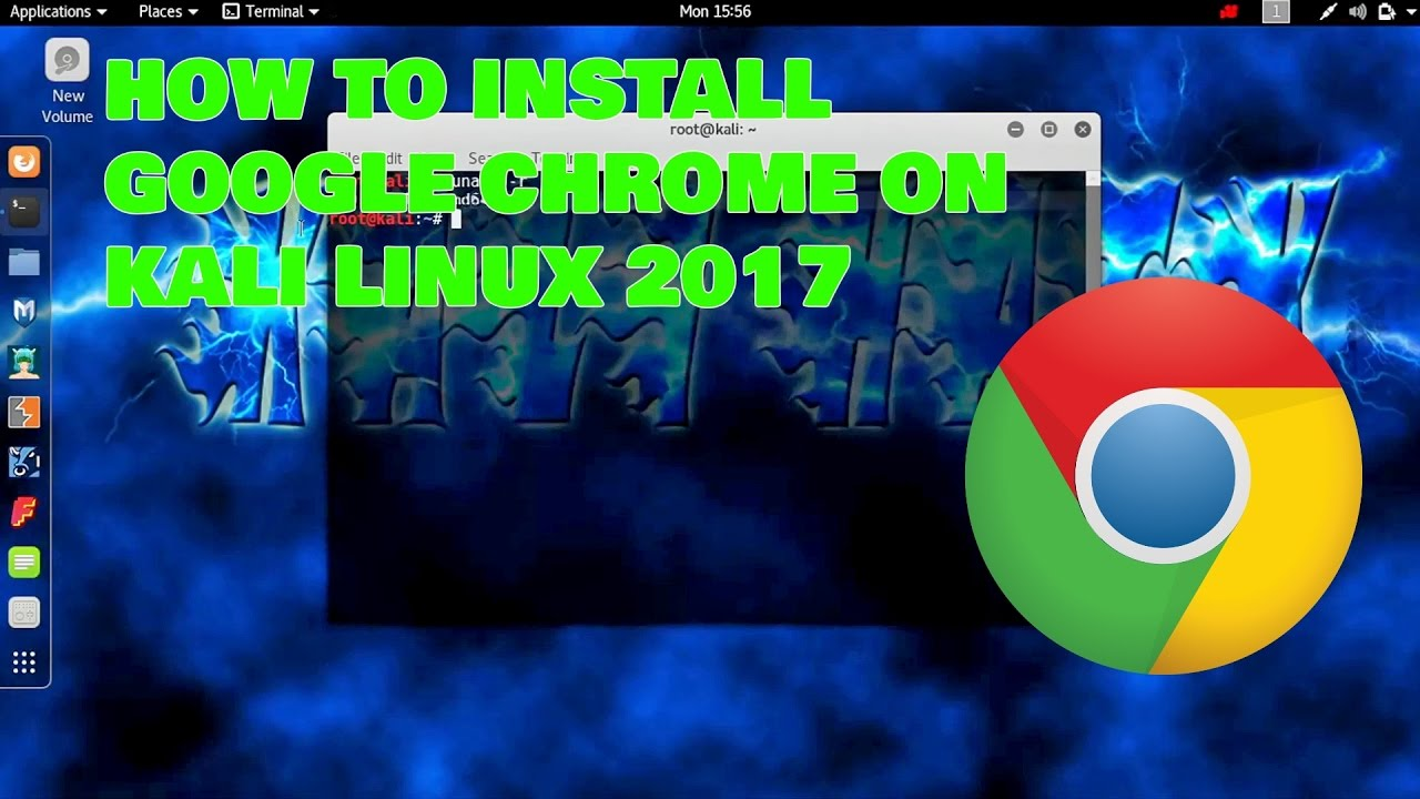 how to get chrome on kali linux