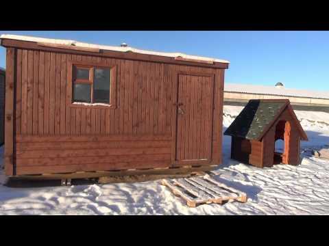 видео: Бытовки. Цена от 19.000 руб. ( Бытовки бани в СПб )