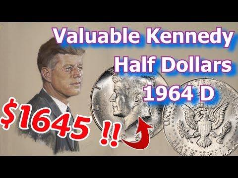 Valuable 1964 Kennedy Half Dollar Varieties Worth Money