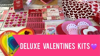 **ALL SOLD** Deluxe Valentines Kits