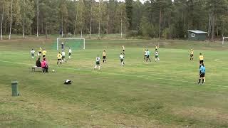 29.09.18 IFK F18 - Honka - Halvlek 1