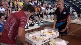 Настольный хоккей-Table hockey-WCh-2011-GALUZO-CAICS-Game5ot-comment-TITOV