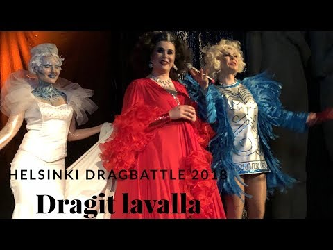 Dragit lavalla - Helsinki DragBattle 2018