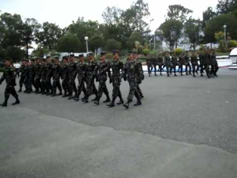 PMA Cadets of Baguio City March Before Every Meal, February 2010