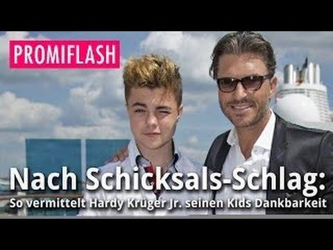 Nach Tragödie: So lehrt Hardy Krüger Jr. seine Kinder Dankbarkeit