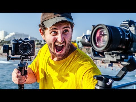 DJI Ronin-SC vs Zhiyun Weebill LAB | Best Tiny Gimbals of 2019? - Kinotika Hosted By Dave Maze