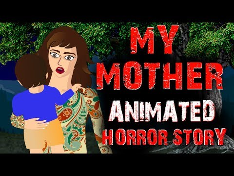 My Mother   Horror Animated Story   Horror Stories Hindi Urdu