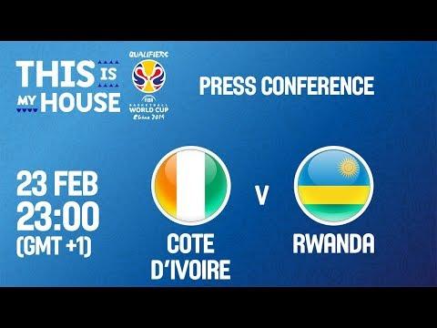 Cote d'Ivoire v Rwanda - Press Conference