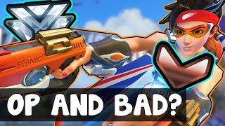 The BEST AND WORST Hero In Competitive : Tracer - Overwatch Season 8 Ranked Op Underrated Guide Tips