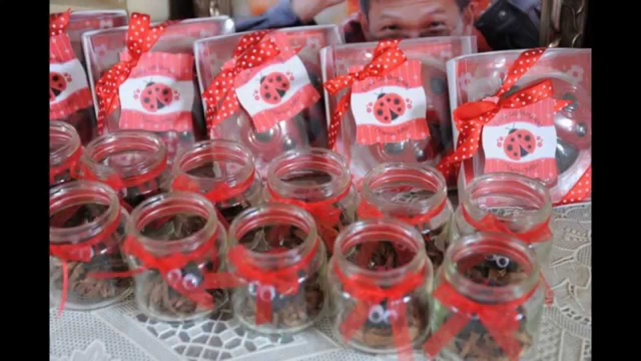 Ladybug Birthday Party Decorations Ideas