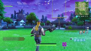 Fortnite AMERICAN FOOTBALL STAGE (REAL)