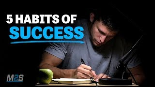 The FIVE HABITS of SUCCESS - Amazing Motivational Video for Students, Success & Studying