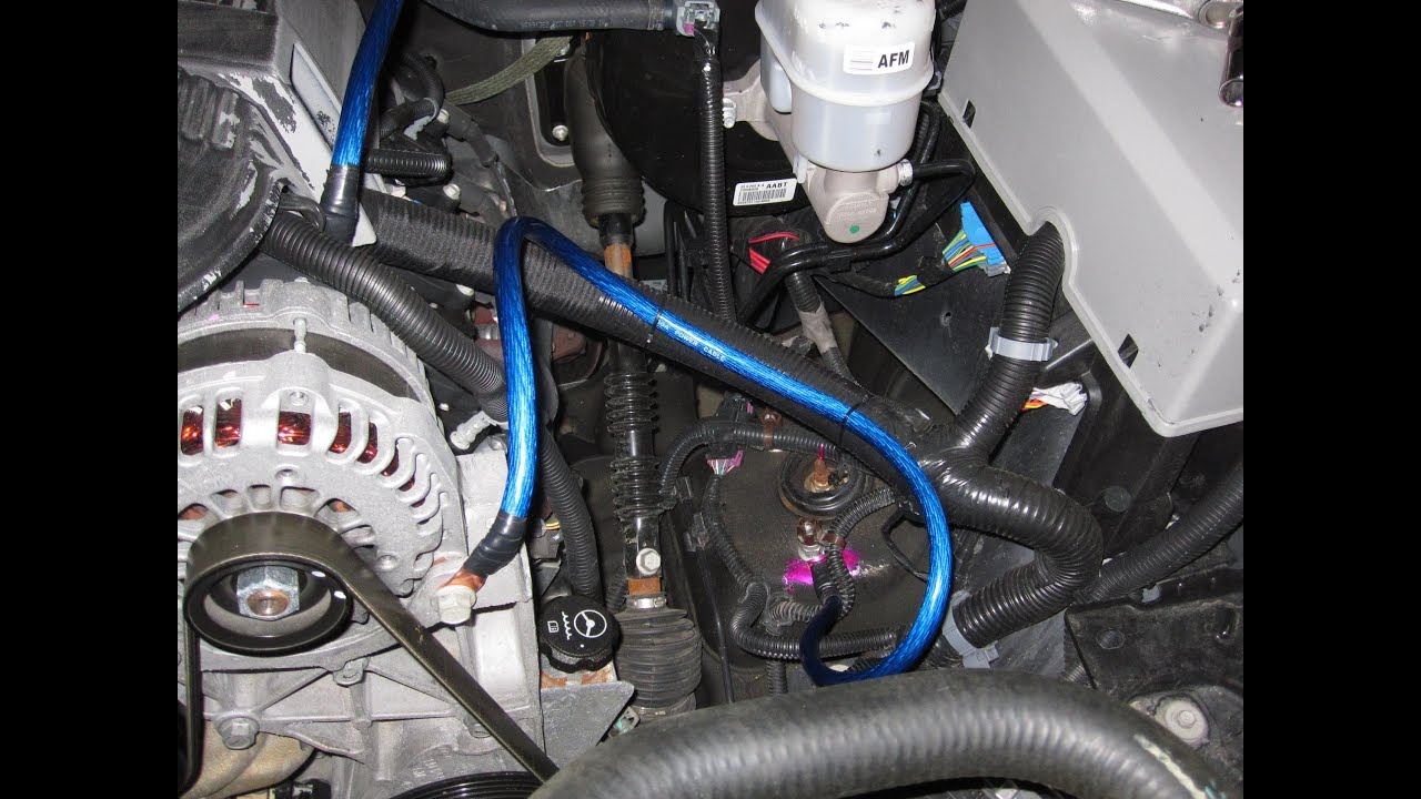 2015 Camry Wiring Diagram Big 3 Upgrade How To Youtube