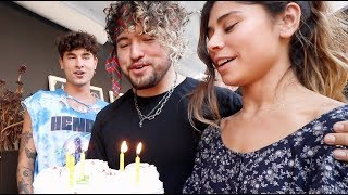 how I ruined jc's surprise birthday...