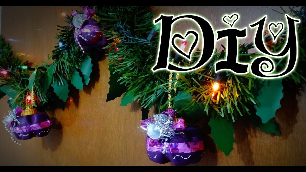 Diy esferas para navidad con botellas idea 3 reciclando - Esferas de navidad ...