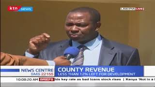Laikipia County on taming revenue: less than 12% left for development