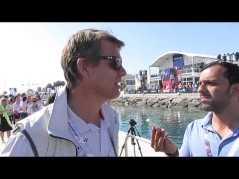 Interview with Volvo Ocean Race CEO Knut Frostad in Abu Dhabi