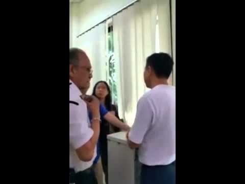 Unreasonable PRC Women Abuse Customer Service Staff PT 3