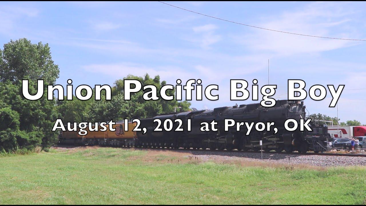 Union Pacific Big Boy Visits Oklahoma Again on August 12, 2021