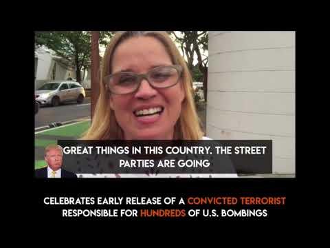 San Juan Mayor Carmen Yulin celebrates terrorist