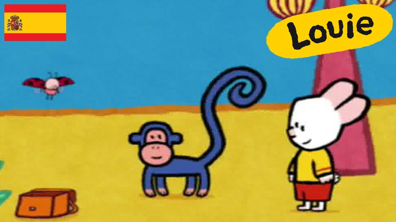 Mono  Louie dibujame un mono  Dibujos animados para nios  YouTube