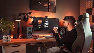 How To Light Your Desk Setup & Workspace   Philips Hue Smart Lights Setup