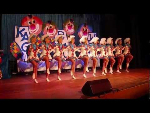 Gardetanz 2013 der Victoriagarde (Garde - Tanzgarde - Tanzsport) Fasching, Karneval