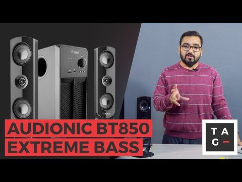 Audionic BT850 - Powerful and bassy speakers in Pakistan 🔊