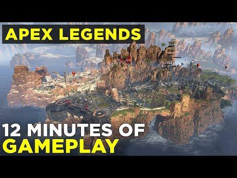 Apex Legends GAMEPLAY! | Titanfall battle royale world premiere