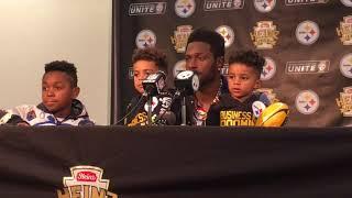 Antonio Brown talks Ryan Shazier, New England Patriots