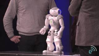 Nao at the Engadget Show