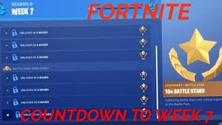 WEEK 7 CHALLENGES COUNTDOWN - FORTNITE SEASON 9 GRIND PS4 FAMILY FRIENDLY WITH SUBS /GIVEAWAY AT 1K