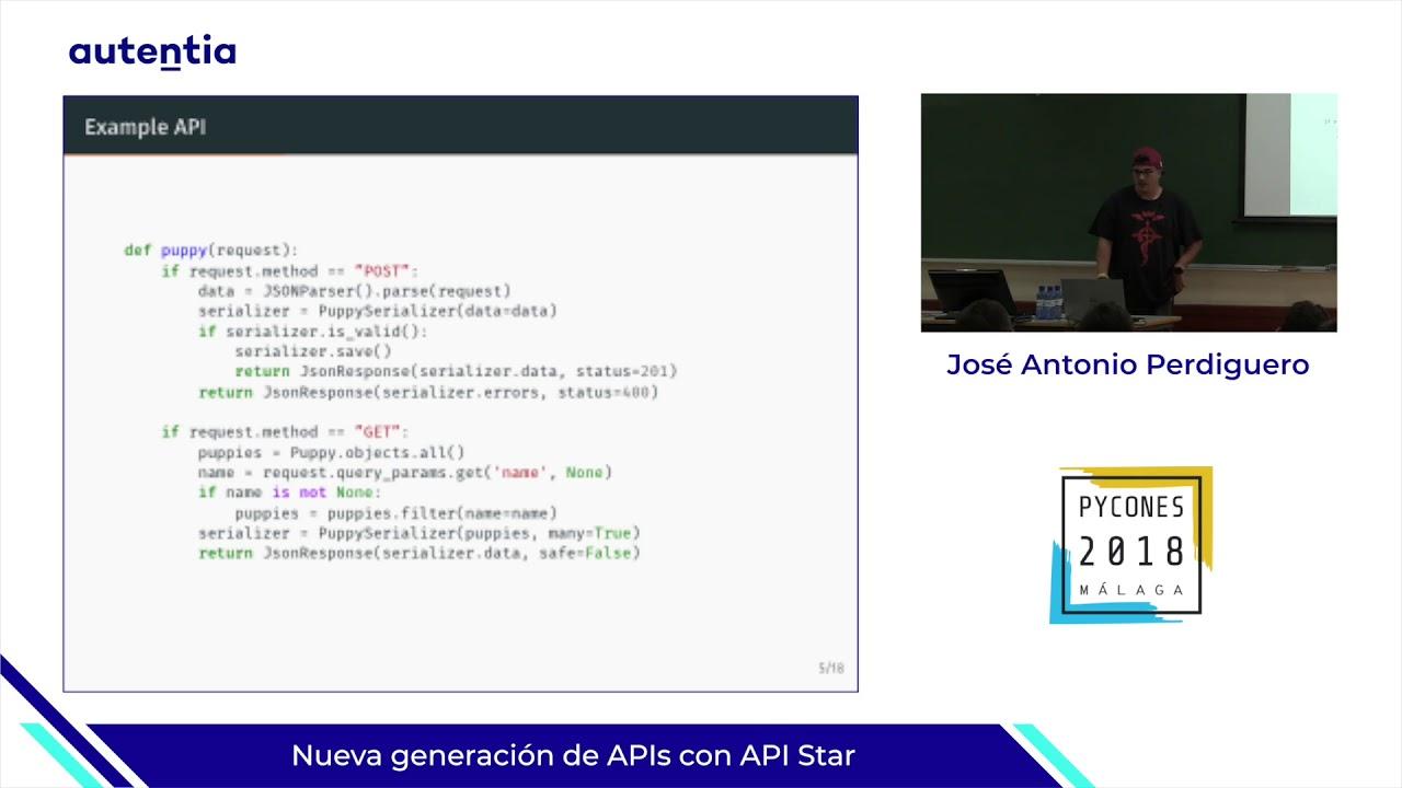 Image from Nueva generación de APIs con API Star