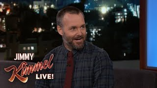 Will Forte Freezes His Pants & Shaves His Eyebrows