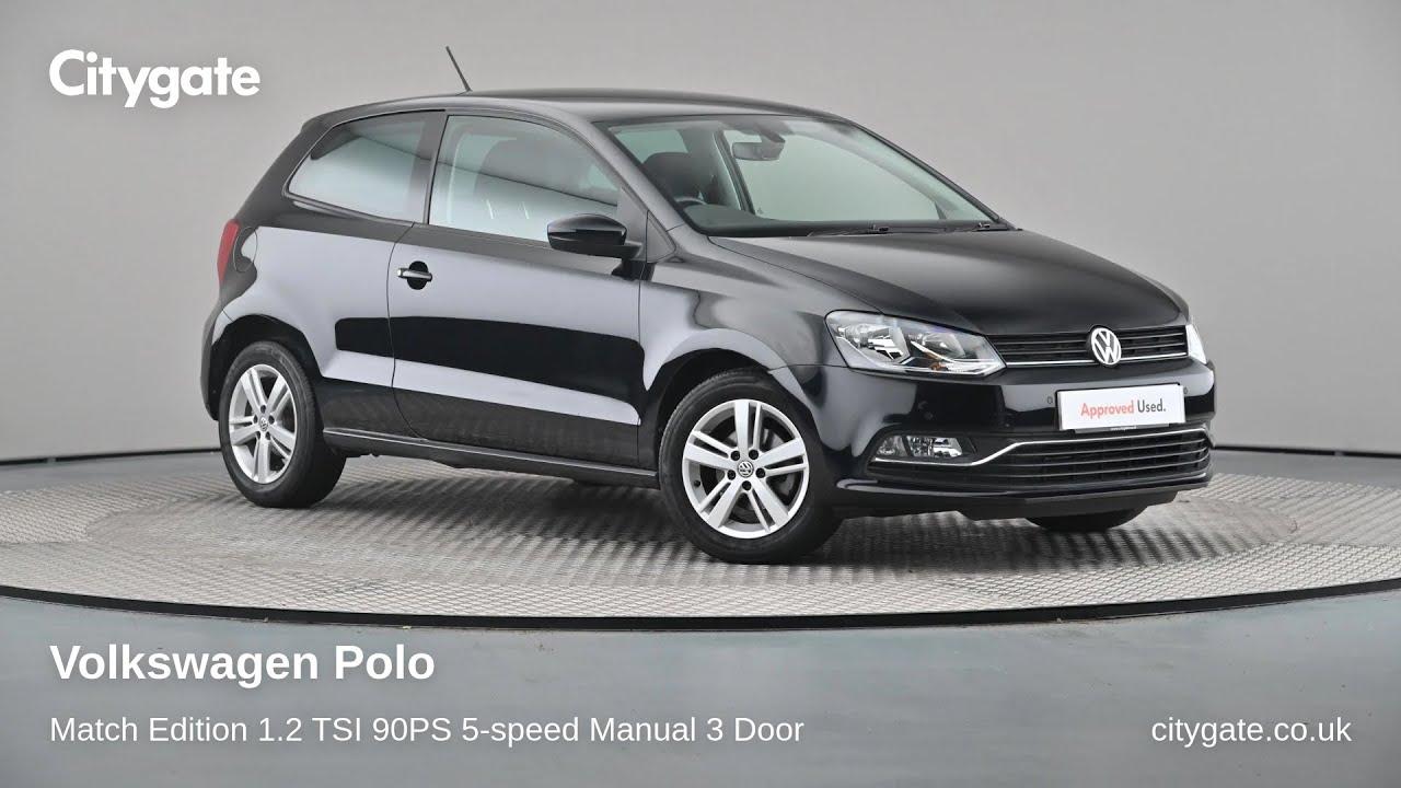 Volkswagen Polo - Match Edition 1.2 TSI 90PS 5-speed Manual 3 Door - Citygate Volkswagen Watford - YouTube