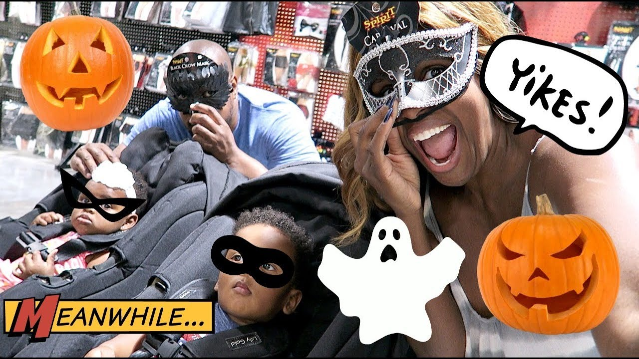 halloween costume shopping for the twins - The Meaning Behind Halloween