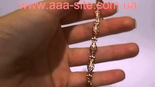 Купить браслет женский позолота: